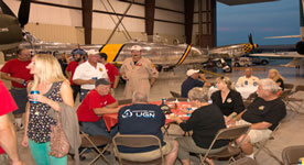 2013 Wings Over Waukegan Hangar Party Photos